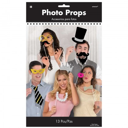 Photo Booth Props - Fancy Party