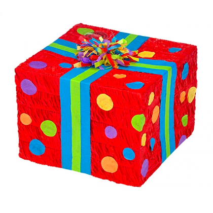 Birthday Present Conventional Piñata