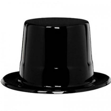 "5 1/4"" x 10 3/4"" Top Hat - Black"