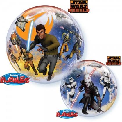 "Q 22"" Disney Star Wars Rebel Bubble Balloon"