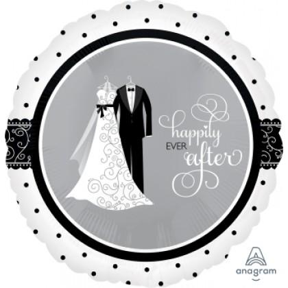 "S40 17"" Black & White Wedding Standard XL®"