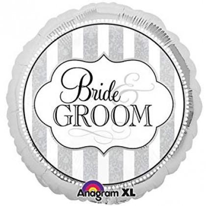"S40 17"" Bride & Groom Standard HX®"