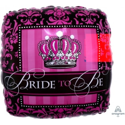 """S40 17"""" Crowned Bride To Be Standard HX®"""