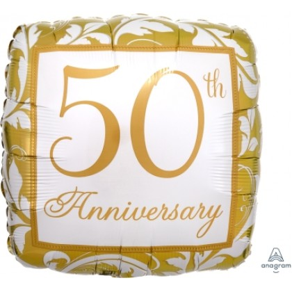 "S40 17"" Gold Elegant Scroll 50th Anniversary Standard HX®"