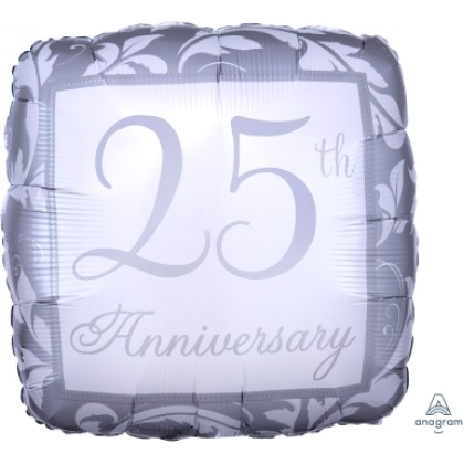 "S40 17"" Silver Elegant Scroll 25th Anniversary Standard XL®"