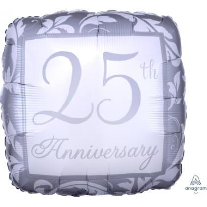 "S40 17"" Silver Elegant Scroll 25th Anniversary Standard XL®"