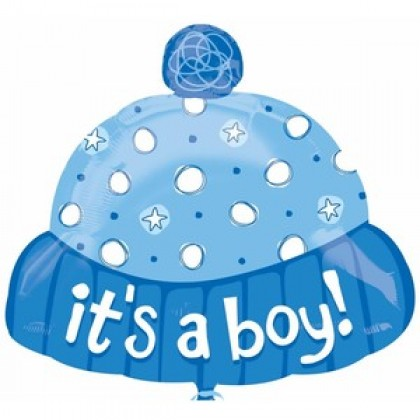 "S50 18"" It's A Boy Hat Junior Shape XL®"