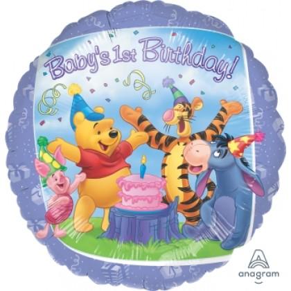 "S60 17"" Pooh & Friends™  1st Birthday Standard HX®"