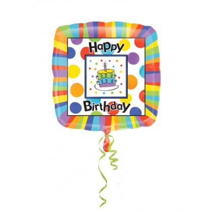 "P33 32"" Happy Birthday Big Dots SuperShape™ XL®"