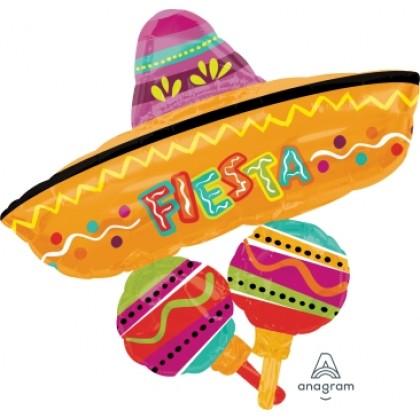 "P40 32"" Fiesta Fun Cluster SuperShape™"