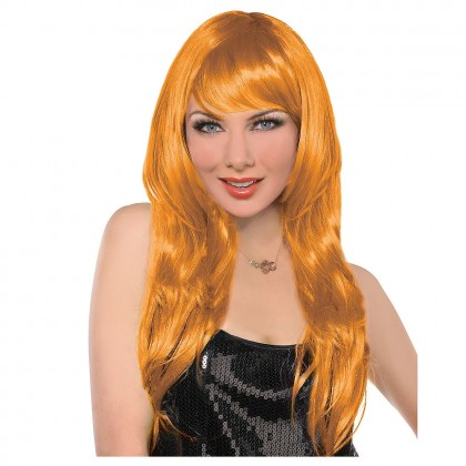 Adult/Child Glamarous Wigs Orange