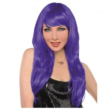 Adult/Child Glamarous Wigs Purple