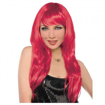 Adult/Child Glamarous Wigs Red