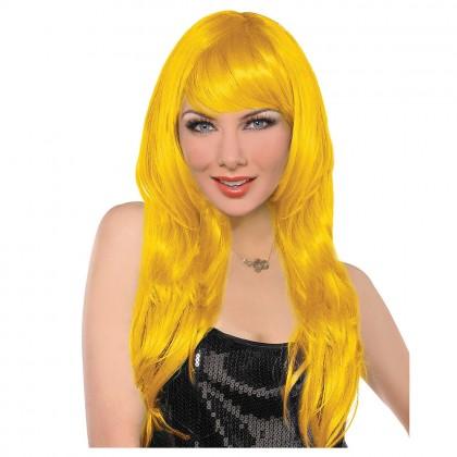 Adult/Child Glamarous Wigs Yellow