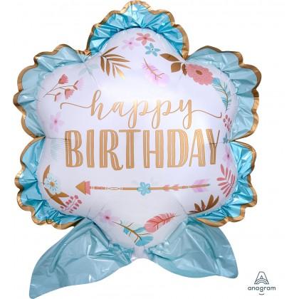 P35 Boho Birthday Girl SuperShape™ XL®