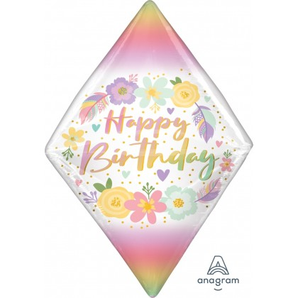 "G20 15"" Birthday Boho Gem UltraShape® Anglez®"