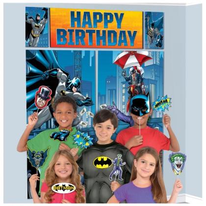 Justice League Heroes Unite Batman Scene Setters® w/Props - Plastic & Paper