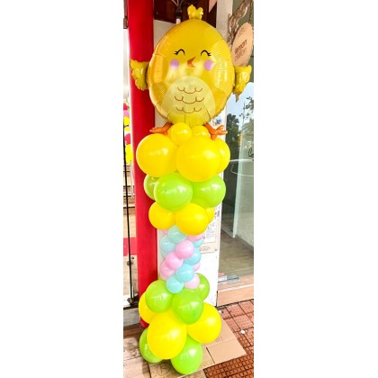 Easter Balloon Column