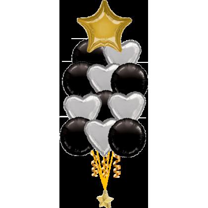 Balloon Centrepiece (13 Foil)