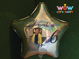Supershape Personalized Balloons